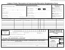 Littleton Parks, Recreation & Community Education Registration Form