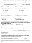 Authorization Form To Use/disclose Protected Health Information