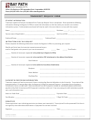 Transcript Request Form - Bay Path University