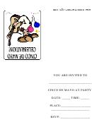 Cinco De Mayo Celebration Invitation Template