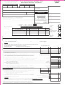 Form P1040 (r) - Income Tax Individual Return - Resident - 2007