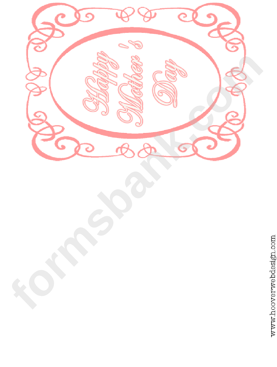 Frilly Picture Frame - Happy Mother