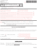 Form In-151 - Application For Extension Of Time To File Form In-111 Vt Individual Income Tax Return - 2009