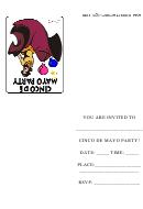 Cinco De Mayo Party Invitation Template