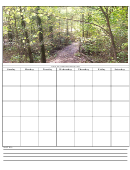 Forest Weekly Planner Template