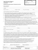 Designated Limited Public Forum Application Form