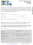 Fireworks Permit Application Form