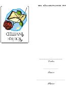 Rose Envelope - Your'e Invited - Invitation Card Template