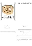 Tribal Aborigine Art Design Party - Invitation Card Template