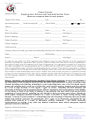 Form Ogc-sf-2004-01 - Camp Genesis Registration, Release And Indemnification