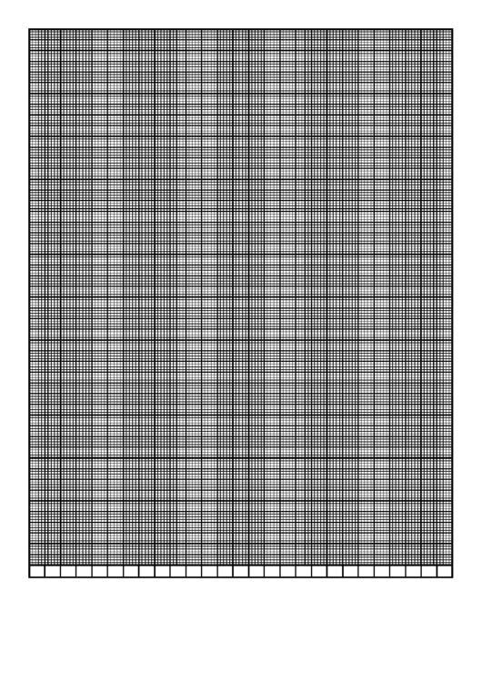 Graph Paper Template - Calendar - 27 Weeks By 5 Days Printable pdf