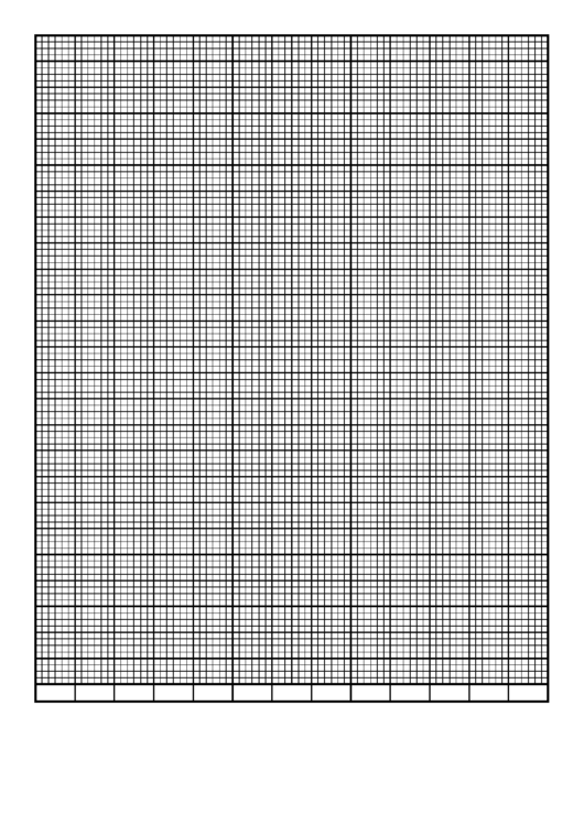 Graph Paper Template - Calendar - 13 Weeks By 6 Days Printable pdf