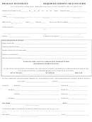 Bradley University Required Student Health Form
