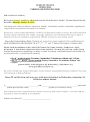 Armony Schools Science Fair Parental Notification Form