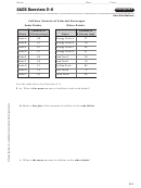 2ace Exercises 3-6 Labsheet