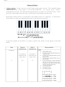 Guitar And Violin Exercise Chords Chart
