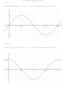 Trig Functions Reference Graphs