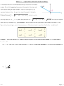 Trigonometric Functions Of General Angles Worksheet Template