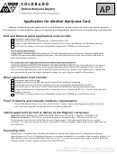 Application For Medical Marijuana Card
