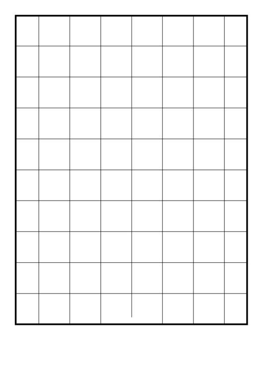 Grid One-Inch Printable pdf