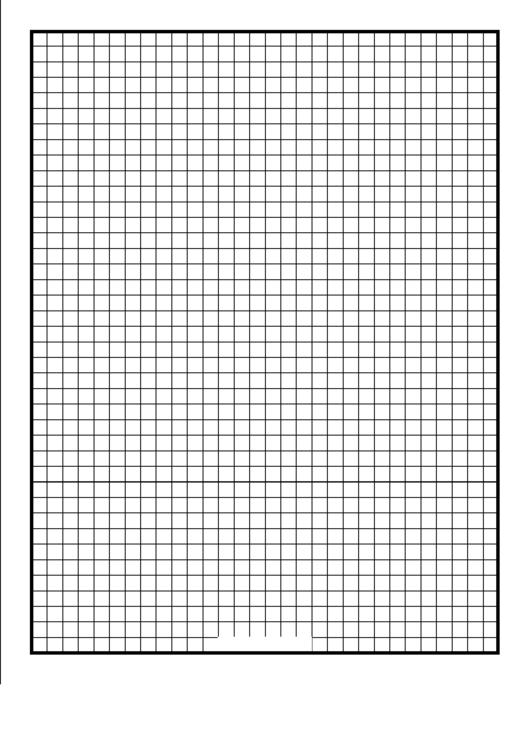 Grid Quarter-Inch Printable pdf