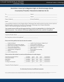 Counselor Teacher Recommendation Form