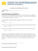 Jump Start Grants Faculty Reference Form