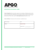 Membership Reference Form