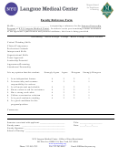 Sample Faculty Reference Form