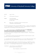 Transmittal Letter Technical Proposal