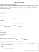Form Schs - Permission To Travel Form