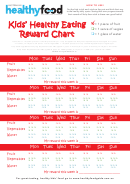 Kids' Healthy Eating Reward Chart