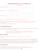 Lhu Irb Consent Form Template For Online Surveys