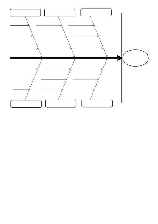 fishbone diagram template printable pdf download