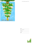 Christmas Tree Party Invitation Template