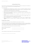 Form Ogc-sf-2005-01 - Vending Refund Policy And Request Form