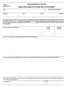 Form It-4852 - Employee's Substitute Wage And Tax Statement