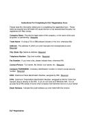 Instructions For Completing Nj Elf Registration Form