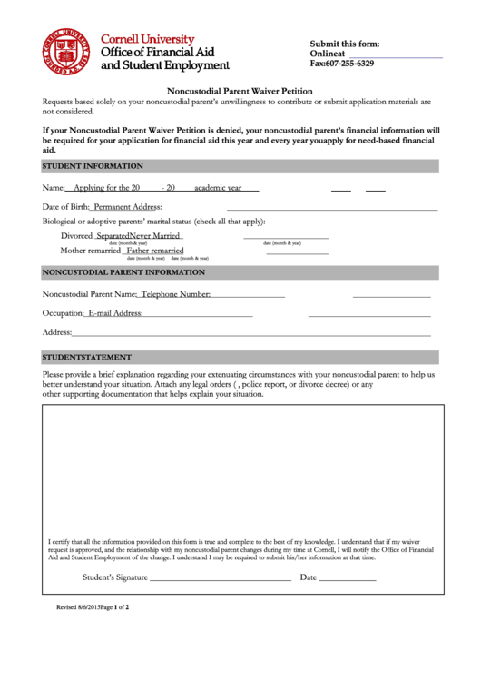 4 Waiver Letter free to download in PDF