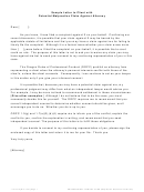 Sample Letter To Client With Potential Malpractice Claim Against Attorney