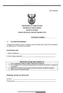 Dha- Form 49 - Notice Of Appeal - Department Of Of Home Affairs