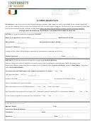 F-1 Sevis Transfer Form