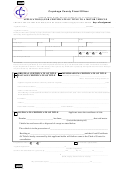 Application For Certificate Of Title For Motor Vehicle Form
