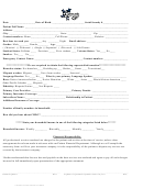 Medical Registration Form