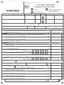 Form 104 - Colorado Individual Income Tax Form 2014