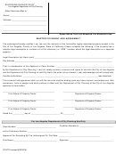 Form Cp-6770 - Master Covenant And Agreement Form - Los Angeles Department Of City Planning
