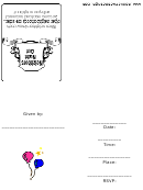 Neighbours Night Out Invitation Template