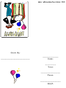50s Party Invitation Template