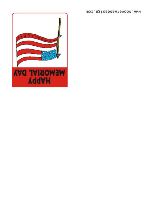 Memorial Day Card Template