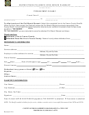 Instructions To Serve Civil Bench Warrant - County Of Fresno